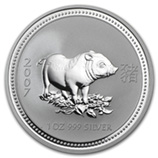Perth Mint Silver (2007 Pig Coins) (Series 1)